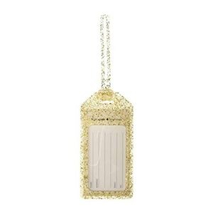 🆕️ Kate Spade Gold Glitter Luggage Tag
